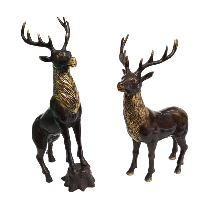 Bronze Stags