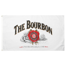 "Jim Beam ""The Bourbon"" Flag"