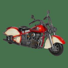 Red Indian Motorbike