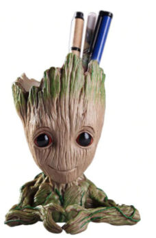 """Groot"" Planter/Pencil Holder (Heart Hands)"