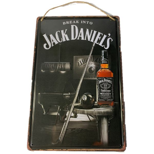 Jack Daniel's Metal Plaque