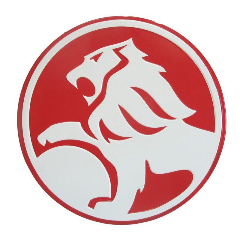 Holden Lion Logo Metal Sign