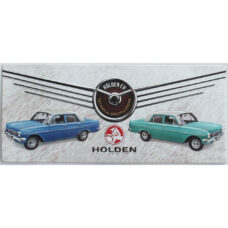Holden Tech Specs Metal Sign