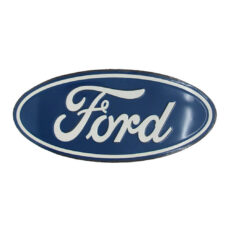Ford Logo Oval Metal Sign