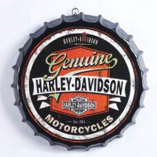 Harley Davidson Bottle Top Metal Sign