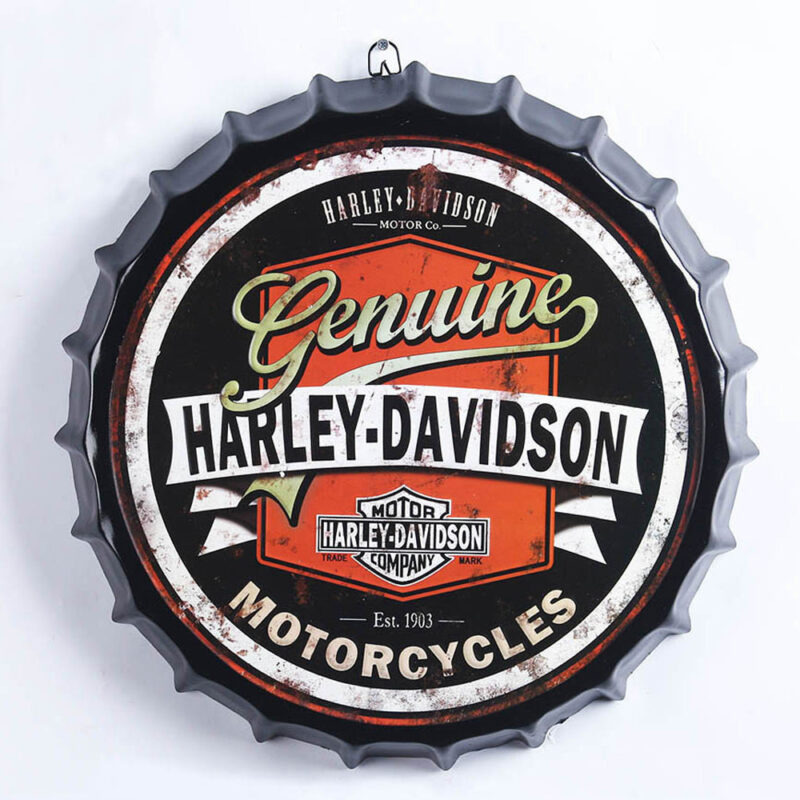 Harley Davidson Bottle Top Metal Sign