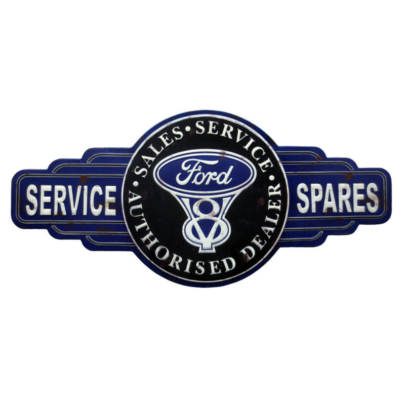Ford Service Metal Sign