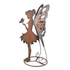 Fairy with Butterfly Planter