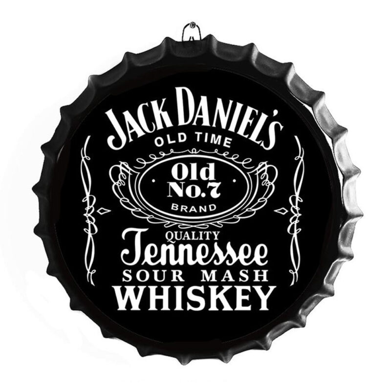 Jack Daniel's Bottle Top Sign