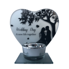 Wedding Day Tealight Holder