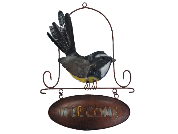 Fantail Welcome (Wall Hanging)