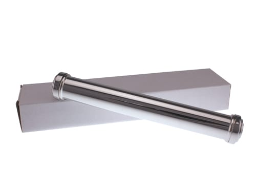 Plain Certificate Holder (Silver Finish)