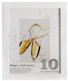 10th Anniversary Photo Frame