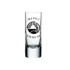 Art Deco Shot Glass: Architecture (50ml)