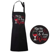 Apron: Kiss The Cook