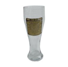 Tall Boy Beer Glass: Beer Prayer