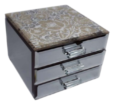 Glitzi Jewel Box with 2 Drawers