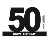 Signature Block '50' Black