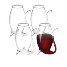 Glass Port Sippers (Set of 4)