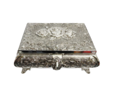 Jewellery Box Queen Anne – Large (Silver Plated)