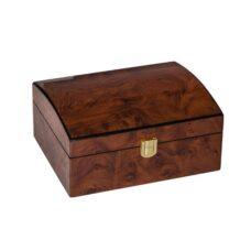 Jewel Box Burl Walnut Finish (Small)