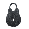 Cast Iron KEYS Padlock Key Holder