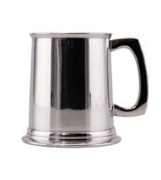 Christening Mug – Straight (Polished Pewter)