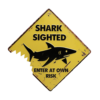 Shark Sighted Wall Plaque