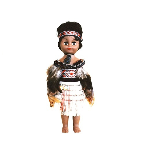 Maori Doll: Wahine with Poi