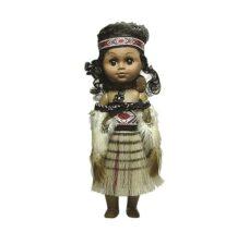 Maori Doll: Wahine with Baby (Large)