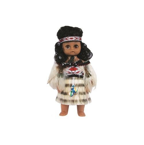 Maori Doll: Wahine with Poi (Small)