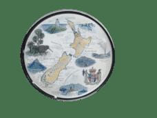 Map of NZ Souvenir Plate (Small)