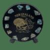 NZ Kiwi Paua Souvenir Plate (Small)