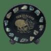 NZ Kiwi Paua Souvenir Plate (Medium)