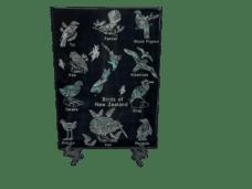Birds of New Zealand Souvenir Plaque