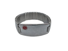Medic ID – Expandable Bracelet (Stainless Steel)