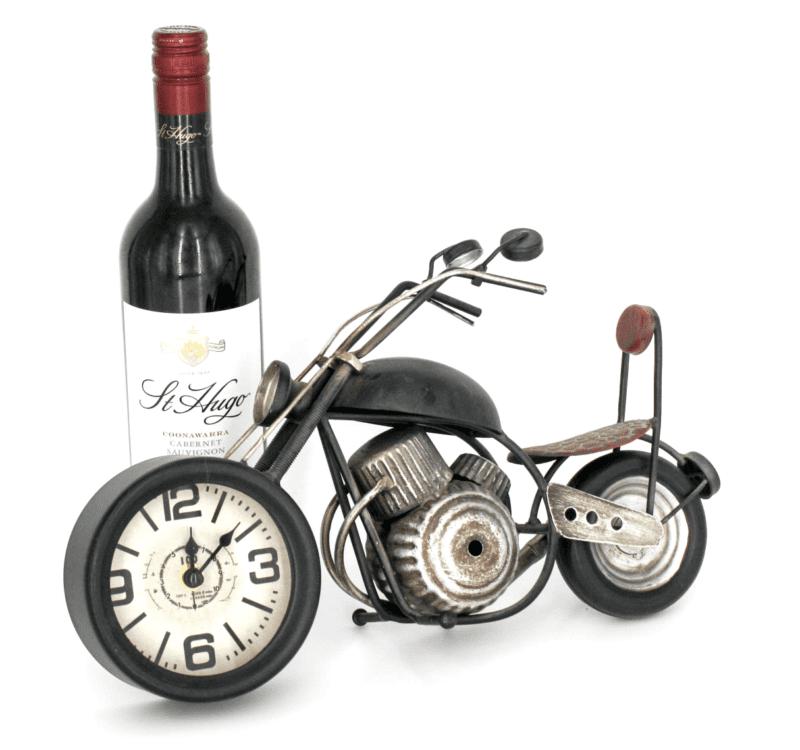 Antique Clock - Motorbike Chopper