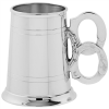 Tankard with Handcuff Handle (English Pewter)
