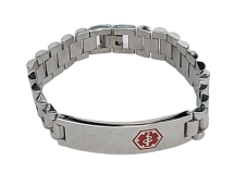 Medic ID – Men's Bracelet (Stainless Steel)