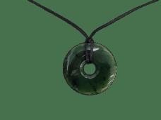 NZ Greenstone / Pounamu Donut Necklace